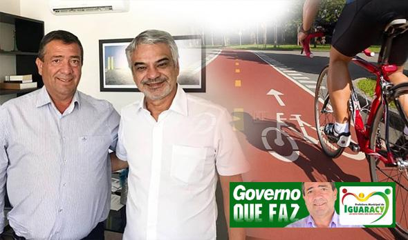 Cidade de Iguaracy será contemplada com uma Ciclovia, diz prefeito após visita ao Senador Humberto Costa