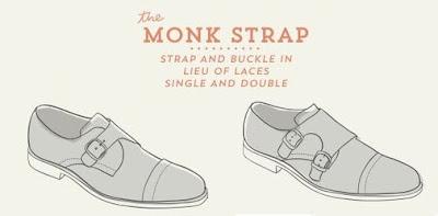 Giày Monk strap - Giầy có khóa