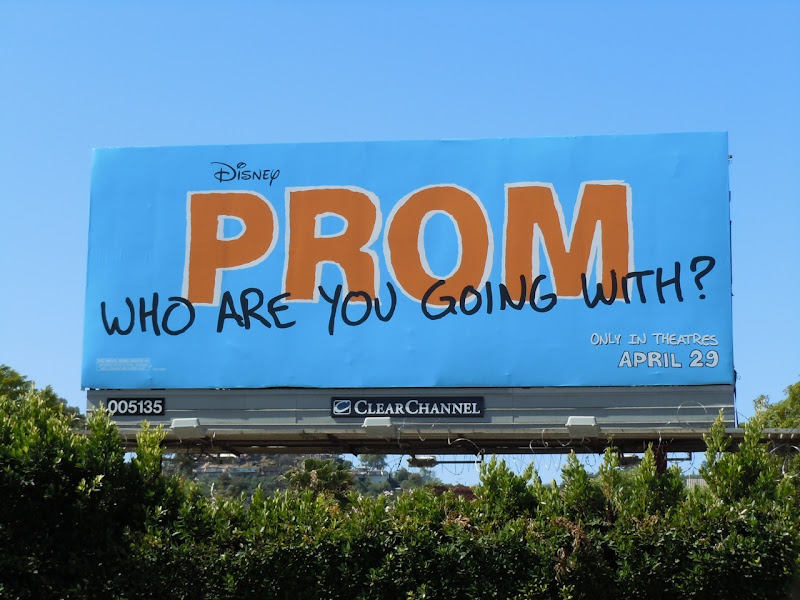 Prom movie billboard