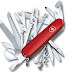 The Secret Of quality knife SWISS ARMY POCKET RED SWISSCHAM