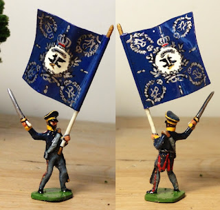 Hinton Hunt PN 17: Prussian Landwehr Officer, Conversion