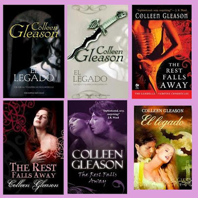 portadas de la novela romántica paranormal El legado, de Colleen Gleason