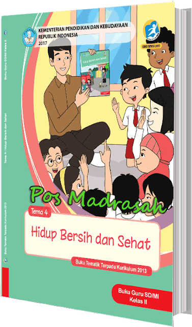 Alhamdulillah admin pos madrasah diberi kesempatan untuk membagikan buku pegangan Geveducation:  Buku K13 Kelas 2 Revisi 2017 Semester 1 SD/MI Lengkap