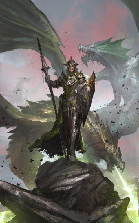 Daniel Kamarudin theDURRRRIAN deviantart ilustrações fantasia games
