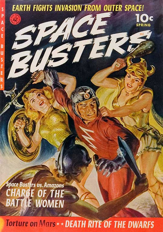 "SPACE BUSTERS...the ORIGINAL ""Space Force""!"