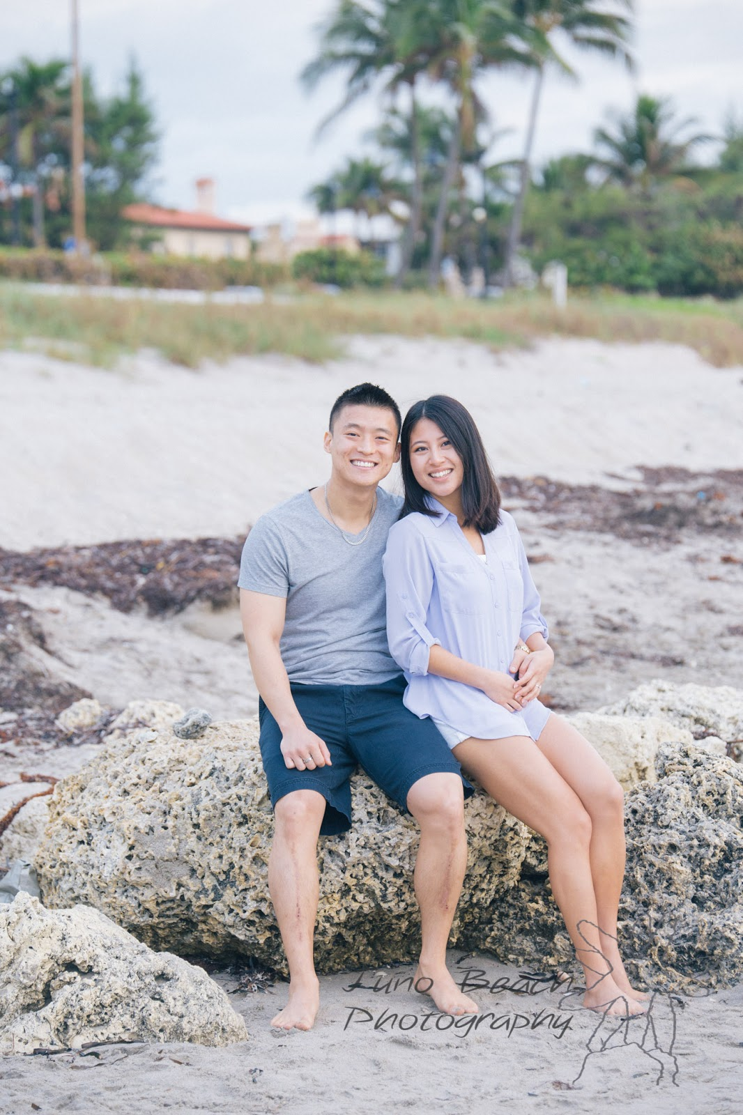 Engagement Session on Palm Beach by Juno Beach Photography