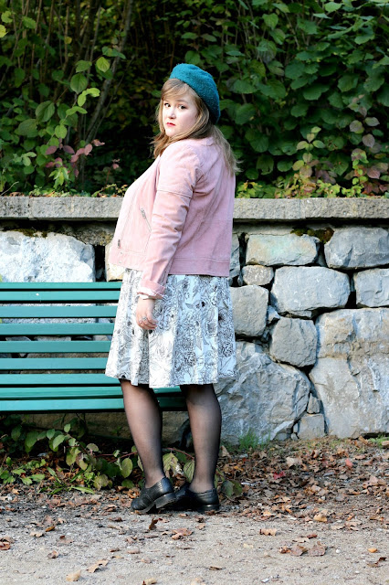 midnight bloom, wear lemonade, make my lemonade, dita, dress, robe, ootd, floral, floers, pink biker