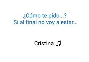 Sebastián Yatra Cristina significado de la canción.