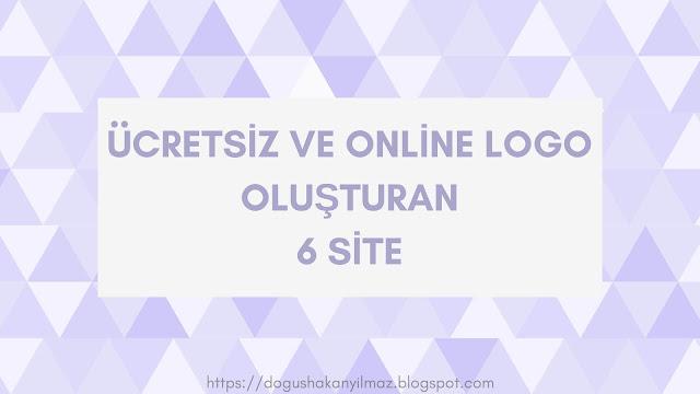 Online Logo Oluşturucu 6 Site