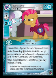 My Little Pony Babs Seed, Anti-Bully Marks in Time CCG Card