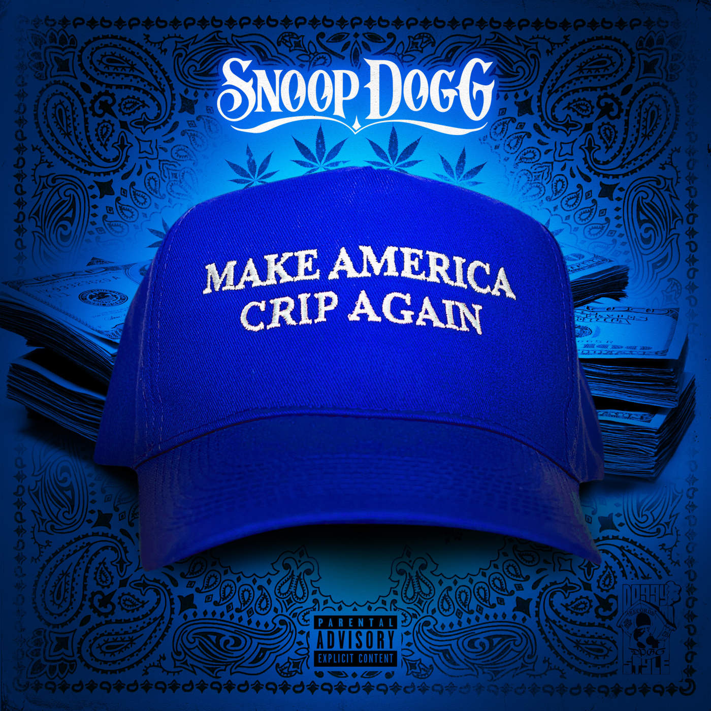 Snoop Dogg - Make America Crip Again Cover
