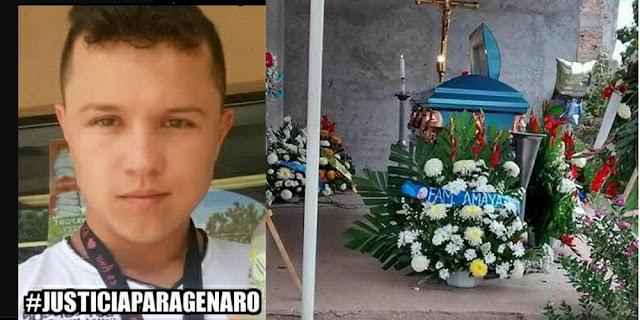 En los separos policías matan a golpes a joven por grabarlos
