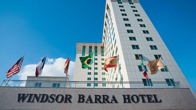Hotel Windsor Barra Hotel no Rio de Janeiro (Imagem: Reprodução/Internet)
