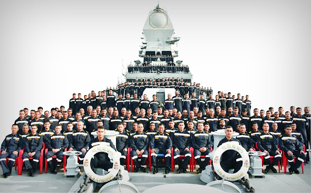 Image Attribute: The Crew of INS Chennai, / Source: Indian Navy Spokesperson's Twitter Handle
