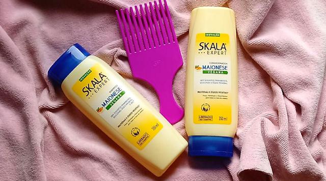 Resenha: Shampoo e Condicionador Skala Maionese Vegana