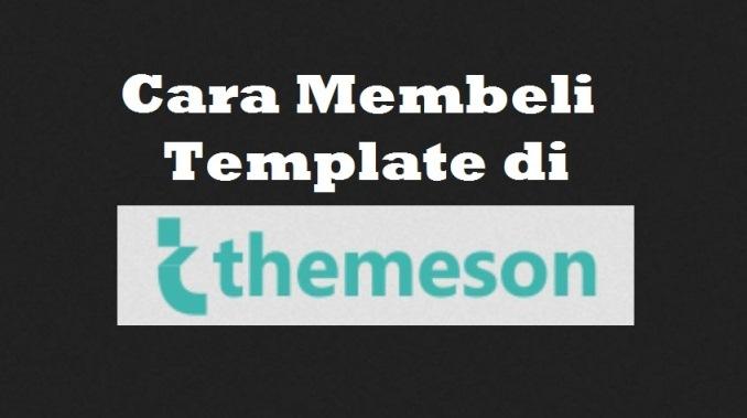 Cara Membeli Template di Themeson.com