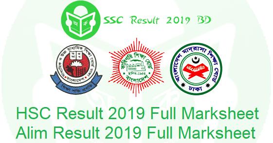 HSC Result 2019 Full Marksheet Download - Exam Results of