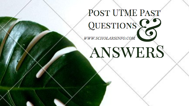 Chukwuemeka Odumegwu Ojukwu University, Uli Post UTME Past Exams Questions And Answers | Download Free COOU Aptitude Test Past Questions and Answers - Cut off Mark & Post UME Screening Date