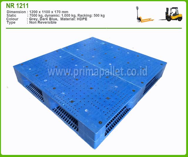 Jual Pallet Plastik | Harga Pallet Heavy Duty NR 1211