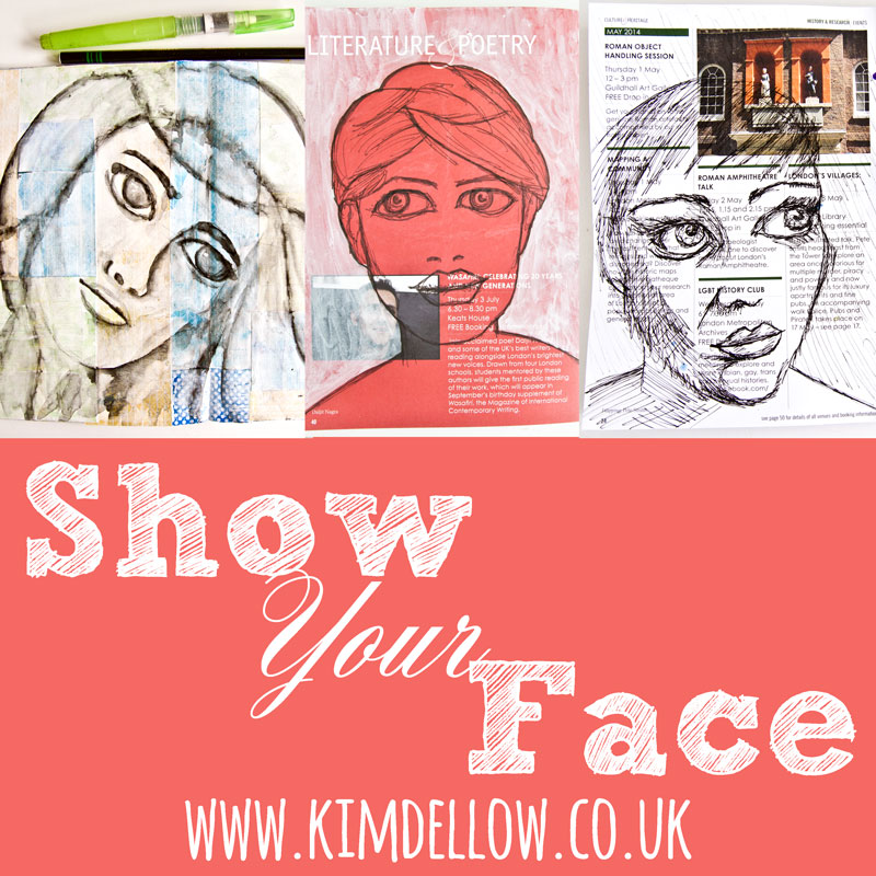 Kim Dellow Show Your Face Blog Button