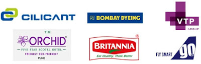 Cilicant,Orchid, VTP group, Bombay dyeing, Go Air