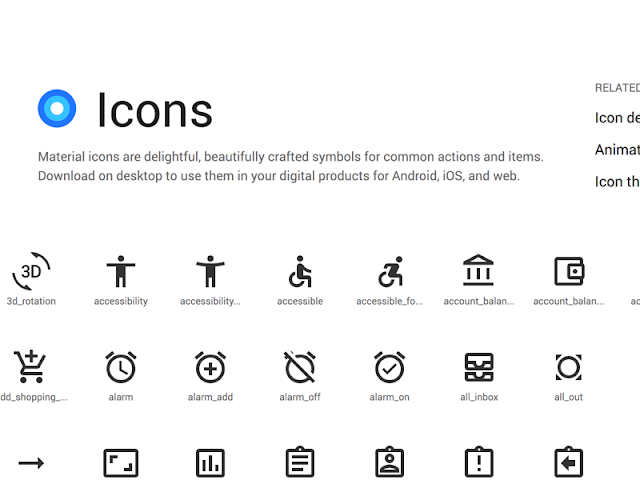 https://material.io/tools/icons/