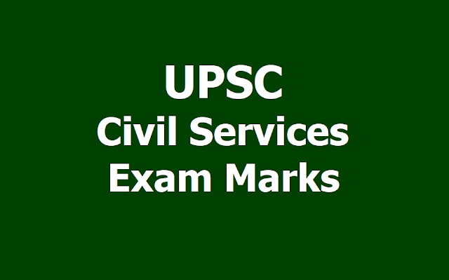 UPSC Civil Services Examination 2018 Marks released
