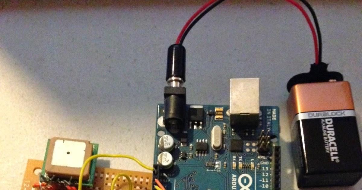 Dan white arduino powered gps speedometer