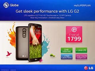 LG G2 Globe Plan
