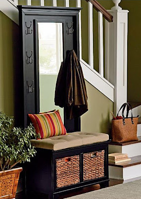 Lifestyle In Blog Home Decor Ideas With Mirror