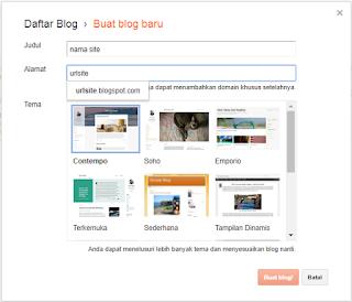 Cara Membuat Blog Gratis di Blogger Terbaru 2017 [Panduan Lengkap]