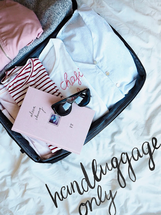 TRAVELING WITH HANDLUGGAGE ONLY - 6 TIPS TO MAKE THINGS EASIER