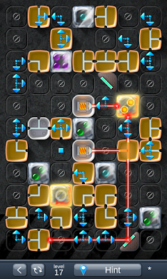 Solution for Laser Box - Puzzle (Extra) Level 17