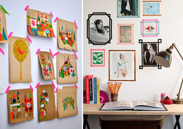 cute waf 39 art masking tape. Black Bedroom Furniture Sets. Home Design Ideas