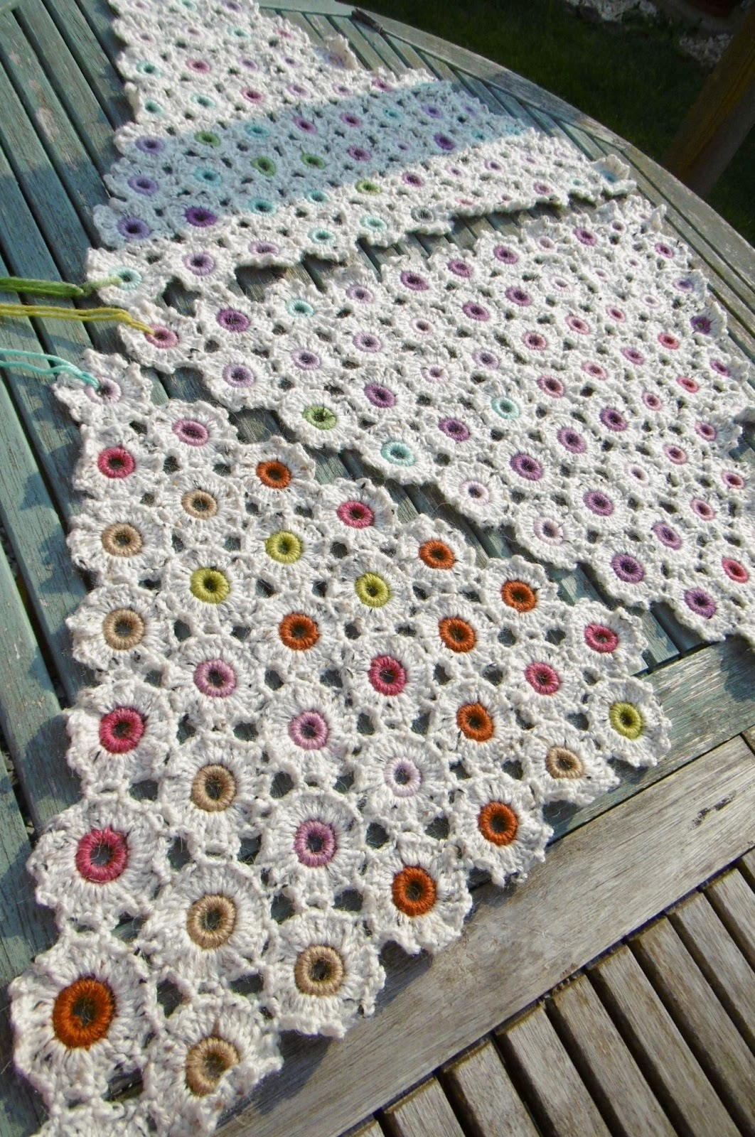 Crochet Temperature Blanket : TEMPERATURE BLANKET....NEED 2 NEW COLOURS! Suz Crochet Groove ...