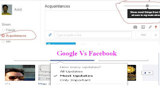 Google Plus-facebook
