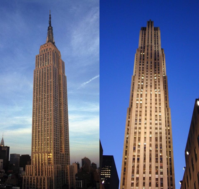 Ir no Empire State Building ou Top of the Rock em Nova York?