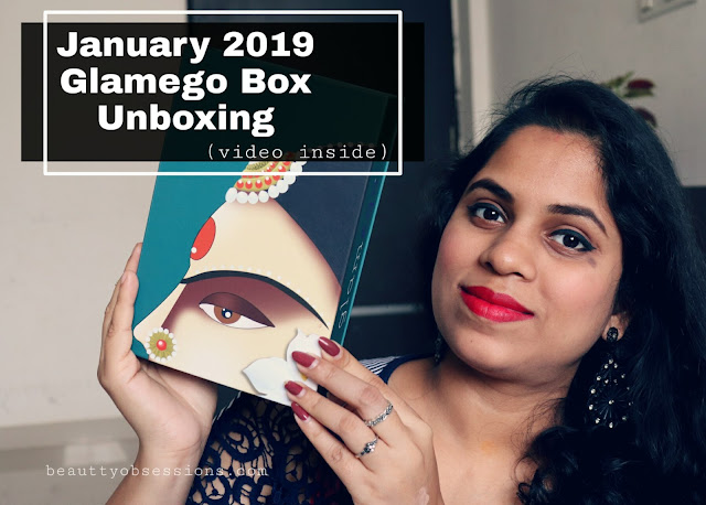 th days of January month has already gone January 2019 Glamego Box Unboxing ( Video Inside)