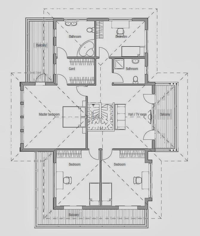 Home Designs Australia Floor Plans: Australian House Plans: Australian House Plan CH204