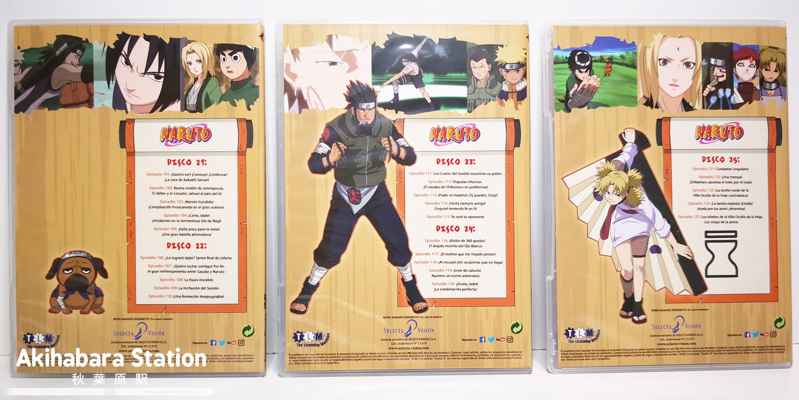 "Review de ""Naruto"" DVD BOX 5 - SelectaVisión"