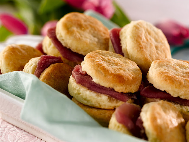 Country Ham  Biscuits is a staple in Johnston County
