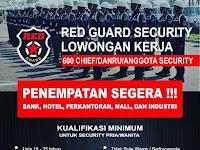 Lowongan Kerja Red Guard Security