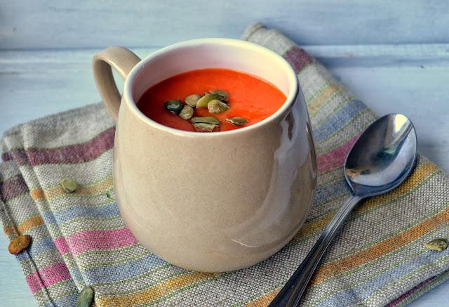 zupa-z-dyni Zupa dyniowa z imbirem i czosnkiem