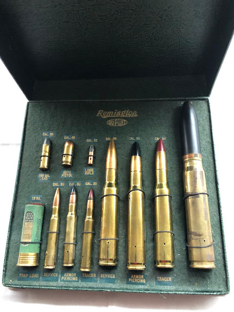 Remington Dupont Ammo Cartridge Salesman's / Store  Display Sample