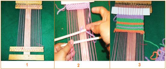 proses pembuatan tapestri