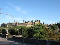 cité de carcassonne dal pont vieux