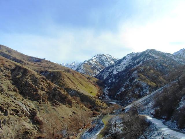 Поход в ущелье на 21 километре - Варзоб, Горы Таджикистана - фото-обзор похода