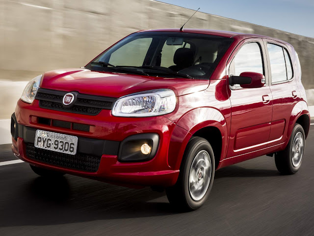 Novo Fiat Uno 2017 Attractive