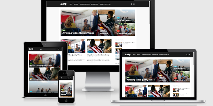 Icofp Simple Responsive Blogger Template