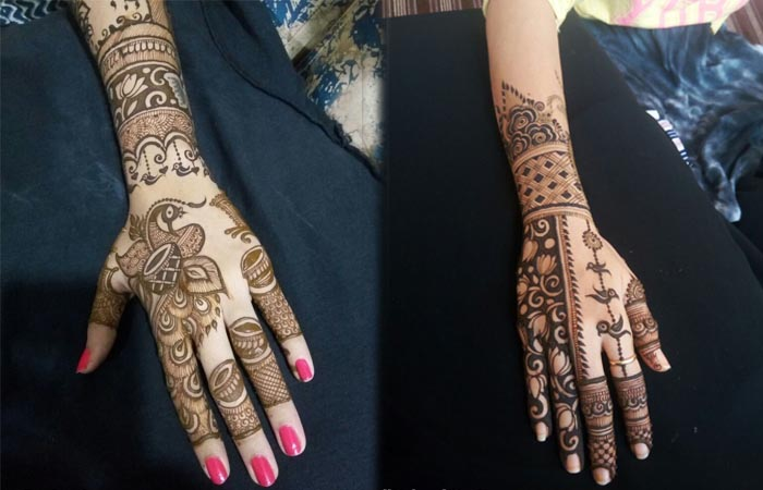 Easy Back Hand Mehndi designs